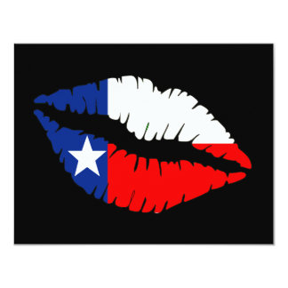 Texas Lips Card