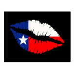 Texas Lips Postcard