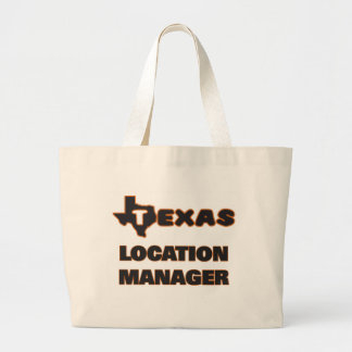 Texas Location Manager Jumbo Tote Bag