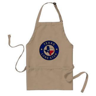 Texas Lone Star Adult Apron