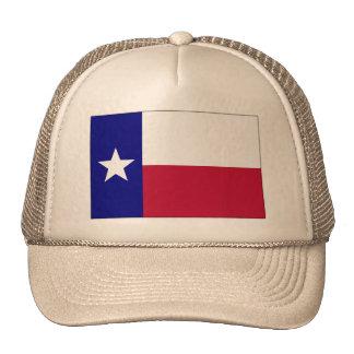 Texas Lone Star Flag Mesh Hats
