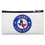 Texas Lone Star Makeup Bag