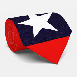 Texas Lone Star Neck Tie