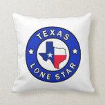 Texas Lone Star pillow