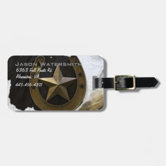 Texas Lone Star Pride Luggage Tag