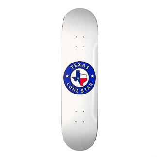 Texas Lone Star Skateboard Deck