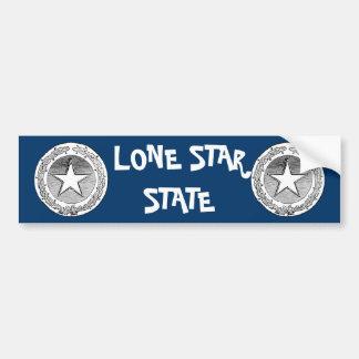 Texas Lone Star State 2 Bumper Sticker