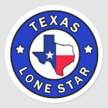 Texas Lone Star sticker