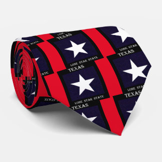 Texas Lone Star Tie
