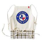 Texas Lone Star Zazzle HEART Apron