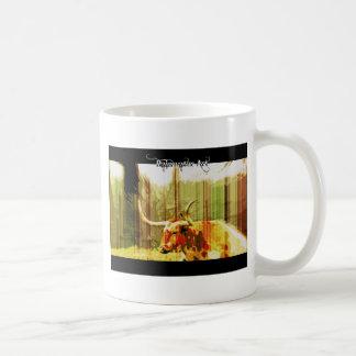 Texas Long Horn Classic White Coffee Mug