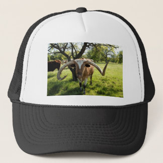 Texas Longhorn Bull Trucker Hat