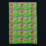 "Texas Longhorn Kitchen Towel<br><div class=""desc"">ImagesByMJ Longhorn Kitchen Towel</div>"