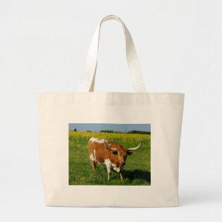 Texas Longhorn Large Tote Bag