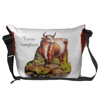 Texas Longhorn Messenger Bag