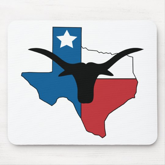 Texas Longhorn Mouse Pad