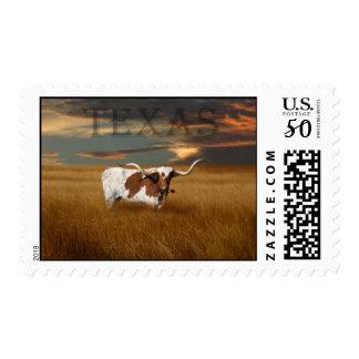 Texas Longhorn Postage