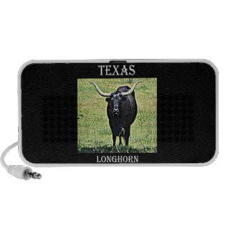Texas Longhorn Notebook Speaker