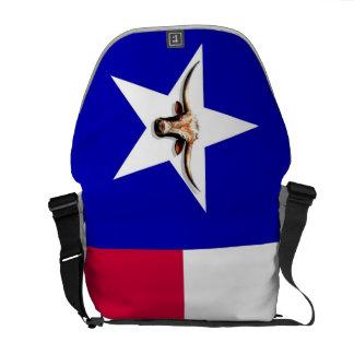 Texas Longhorn The Symbol o Rickshaw Messenger Bag