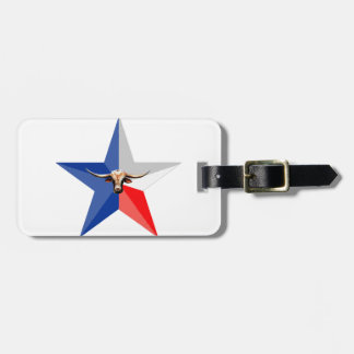 Texas Longhorn The Symbol of-Power multiple produc Bag Tag