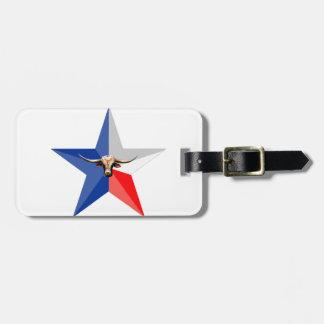 Texas Longhorn The Symbol of-Power multiple produc Bag Tag
