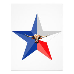 Texas Longhorn The Symbol of-Power multiple produc Letterhead