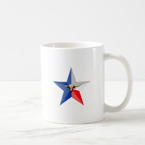 Texas Longhorn The Symbol of-Power multiple produc Classic White Coffee Mug