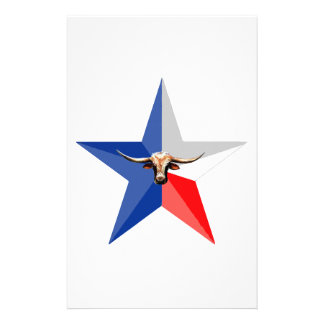 Texas Longhorn The Symbol of-Power multiple produc Stationery
