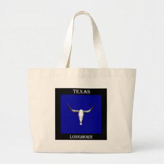 Texas Longhorn Z.jpg Large Tote Bag