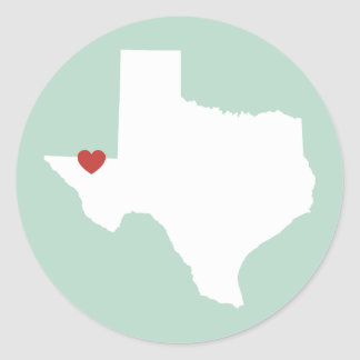 Texas Love - Customizable Sticker