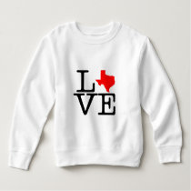 Texas Love Fleece Toddler Sweatshirt