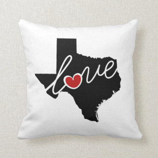 Texas Love!  Gifts for TX Lovers Throw Pillow