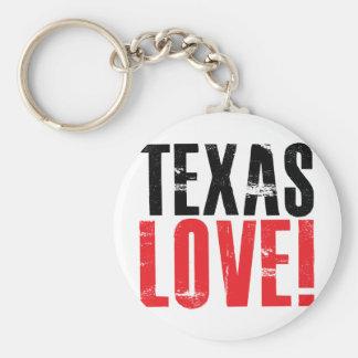 Texas Love Keychain