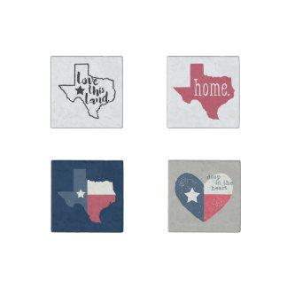 Texas Love Magnet Set Stone Magnet