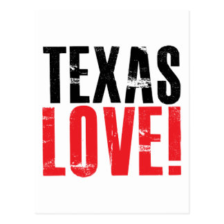 Texas Love Postcard