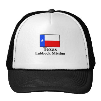Texas Lubbock Mission Hat