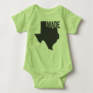 Texas Made Home State Love Baby Shirt