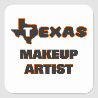 Texas Makeup Artist Square Sticker