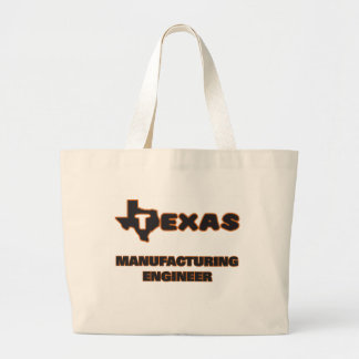 Texas Manufacturing Engineer Jumbo Tote Bag