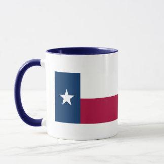 Texas Map and State Flag Mug