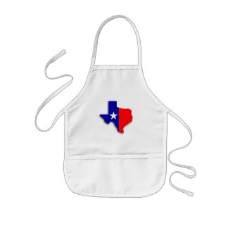 texas map aprons
