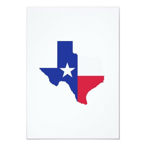 Texas Map Flag Card  Zazzle