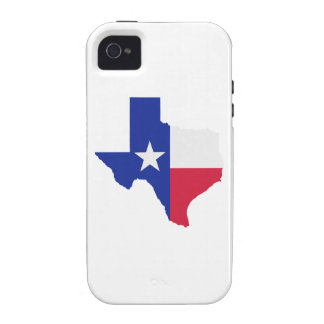 Texas map flag Case-Mate iPhone 4 covers