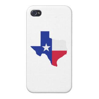 Texas map flag iPhone 4 case