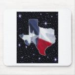 Texas Map Mousepads