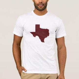 Texas - Maroon T-Shirt