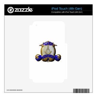 Texas Mason iPod Touch 4G Decal