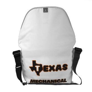 Texas Mechanical Engineer Messenger Bags