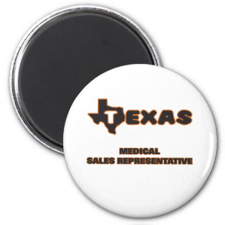 Texas Medical Sales Representative 2 Inch Round Magnet