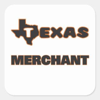Texas Merchant Square Sticker